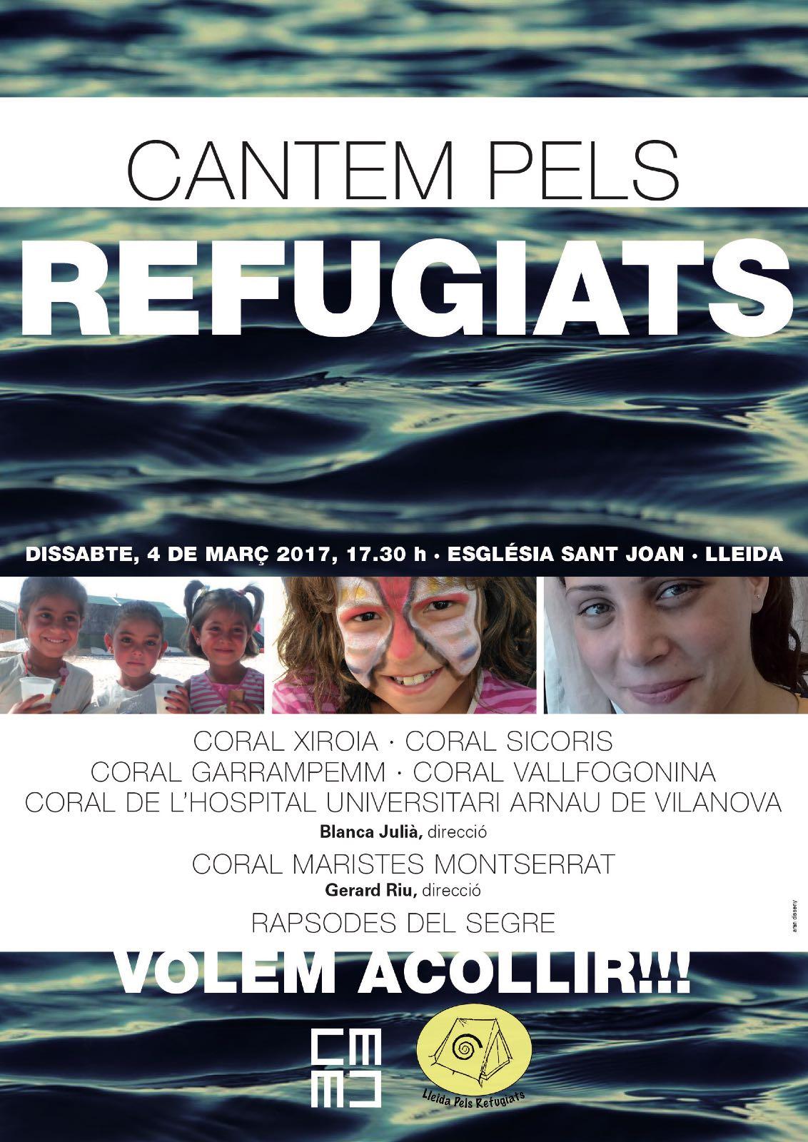 Cantem pels refugiats
